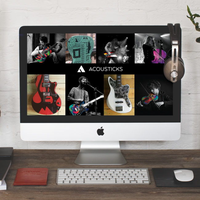 ACOUSTICKS WEBSITE