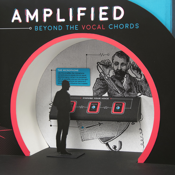 AMPLIFIED EXHIBITION WALL